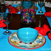 """RED FLORAL"" Theme<br /> <br /> ""Some of the most important conversations I've ever had occurred at my family's dinner table."" ~ Bob Ehrlich<br /> <br /> June, 2014"