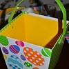 "April 2013<br /> <br /> I know that Easter eggs do not spiritually have anything to do with the Resurrection (Easter), but I like the colors and patterns.<br /> <br /> ""FUN AND FLOUNCY"" Theme<br /> (Centerpiece)"