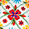 """8.5"" MELAMINE SALAD PLATE (RED FLORALTheme for June, 2014))""<br /> <br /> ""Some of the most important conversations I've ever had occurred at my family's dinner table."" ~ Bob Ehrlich<br /> <br /> Here's a close-up of the designs on one of the plates that adorned our kitchen table setting in June (2014). <br /> <br /> A photo of the table setting can be viewed here: <a href=""http://godschild.smugmug.com/Parade-of-Homes-2/Decorating/i-Jxk3xqG/A"">http://godschild.smugmug.com/Parade-of-Homes-2/Decorating/i-Jxk3xqG/A</a><br /> <br /> (photo taken 6/2014)"