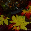"November 2015<br /> <br /> ""AUTUMN LEAVES"" Theme<br /> <br /> The Centerpiece of Attention<br /> <br /> (table decorated and photo taken 10/31/2015)"