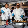 The chefs were as excited about the event as much as the attendees.