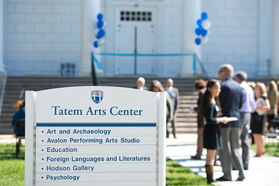 Tatem Arts Center Dedication