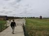 walking through the camp