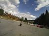 Riding into Bukovel