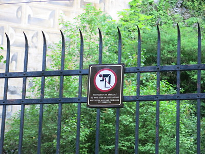 Do not kill yourself on these gates!