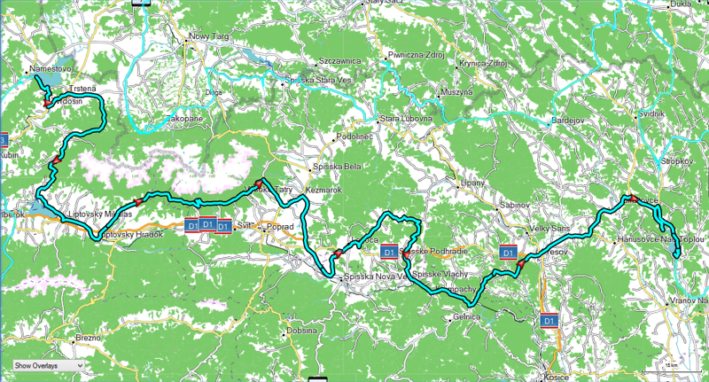 Day 6 - June 11 - Route