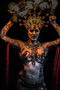Cervena Fox - Richmond Tattoo Art & Music Festival 2019 - Richmond, Virginia