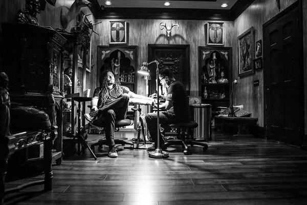 Munky / Korn & Eric Gonzalez @ Deers Eye Studio