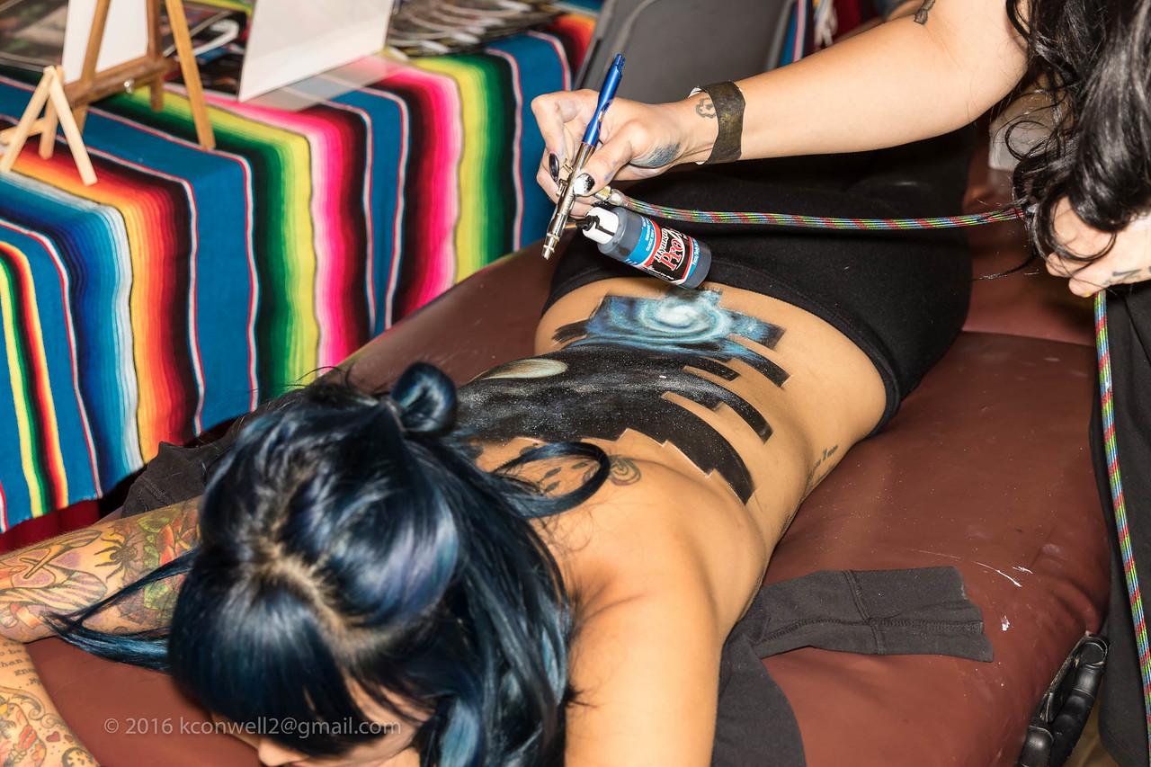 "Artist: Anahy Nunez<br /> Model: "" Lola """