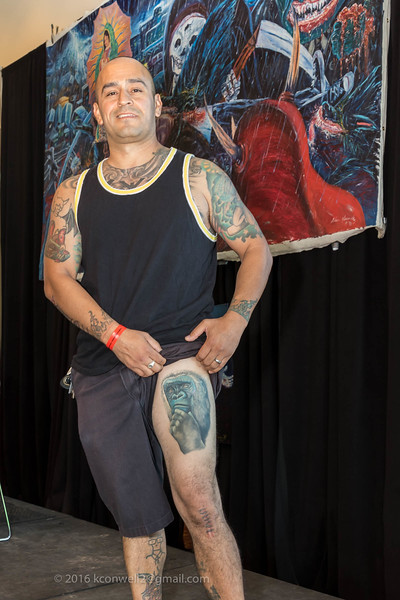 Sat. Judging:  Portrait,  Meso American,  Water Color, Med. Blk & Gray,  Med. Color, Arm Sleeve, Leg Sleeve, Letting, Flash, Best of Day