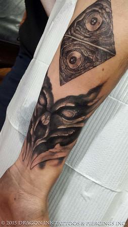 Tattoo work by Chris