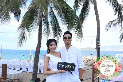Tau, Huong & Luna Wedding Photo Booth @ Ana Mandara Nha Trang