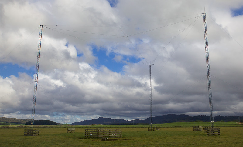 South facing Log Periodic Antenna DSC Transmitter 2 (A4)