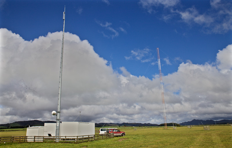 Taupo Maritime Radio Matea Transmit Site.