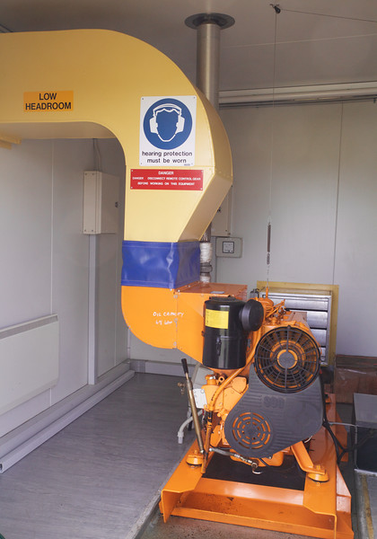 Diesel Generator Hut Matea