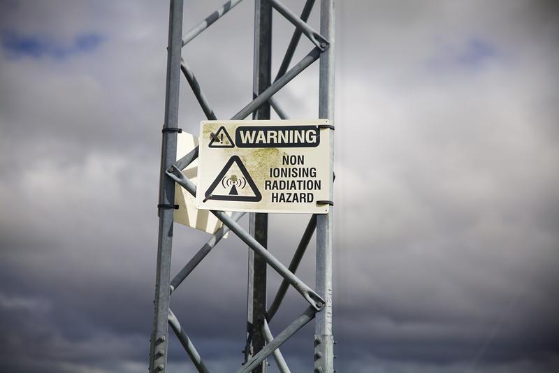 WARNING! Non Ionising Radiation Hazard!