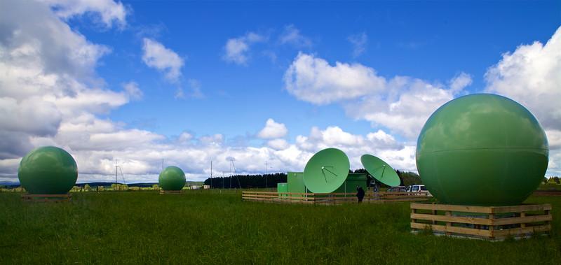 Maritime NZ MEOLUT Satellite tracking ground station Goudies