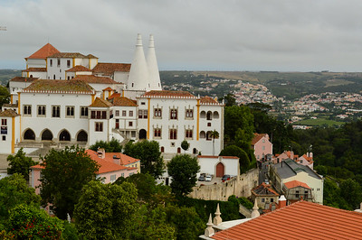 An ancient beautiful town outside of Lisbon