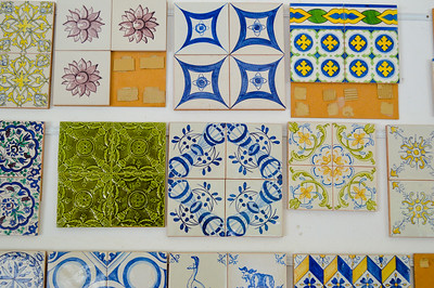 Beautiful tiles- all handpainted