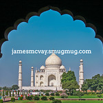 Taj  Mahal thru entrance arch