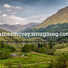 Glenfinnan Viaduct Bridge in Scotland