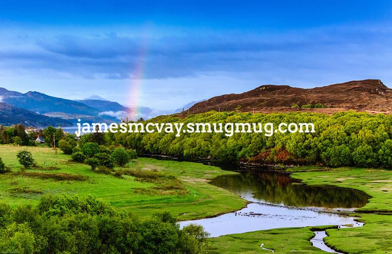 Rainbow  on Isle of Skye