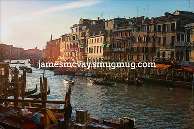 Venice Canal in Morning