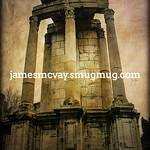 Vestal Virgins Temple Ruins