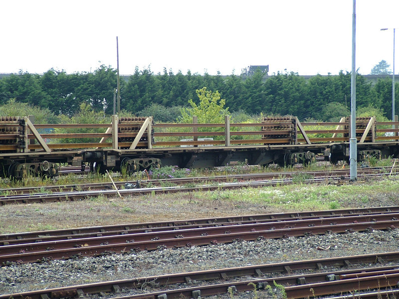 JZA - Long Welded Rail Carrier Wagon - Wrightys