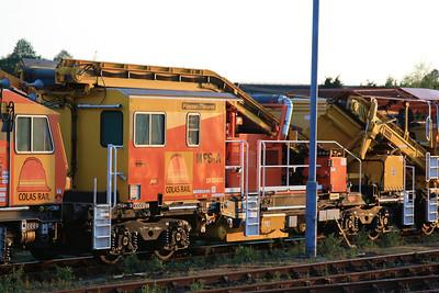 YDA - DR92400 Plasser & Theurer MFS-A Materials Handling Train Interface Wagon