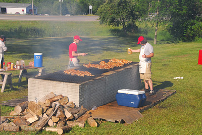 Tawas PRIDE chicken barbeque fund raiser.