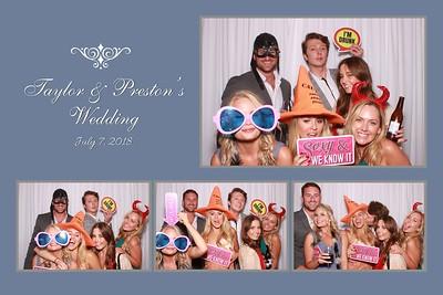Taylor & Preston's Wedding