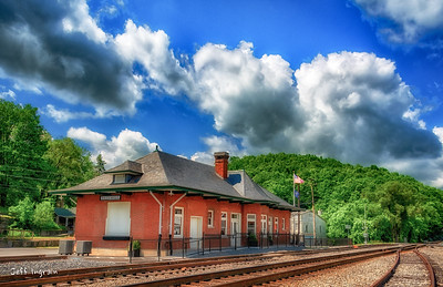 Tazewell Train Station