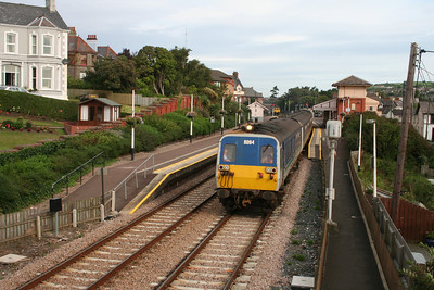 8094 departs Whitehead with what is believed to be the first lady driver at NIR at the controls