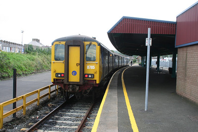 8785 at Larne Harbour