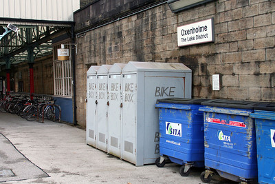 Oxenholme bike boxes