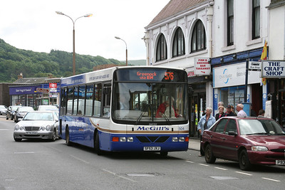 McGills 504 on the 576 in Largs