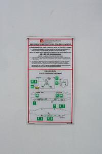 MV Loch Shira Emergency Instructions