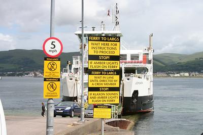 Cumbrae Slip signage