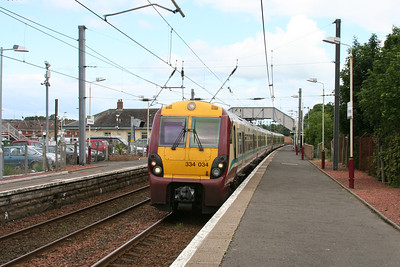 334034 has done the honours as far as Kilwinning
