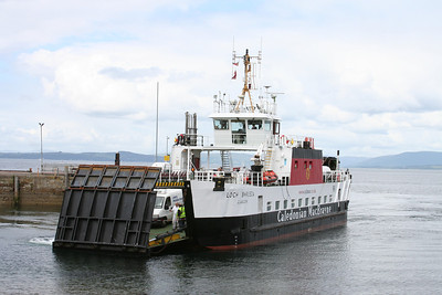 Loch Bhrusda arrives at Largs