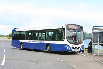 Millport Motors Limited MX08NNT Eclipse at Cumbrae Slip