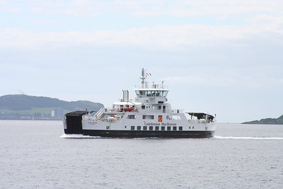 Loch Shira mid channel for Largs