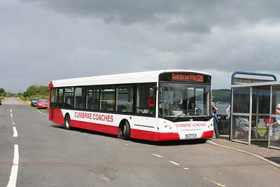Cumbrae Coaches E300 SK07HLW at Cumbrae Slip