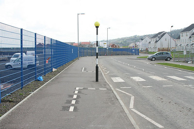 Give way markings on cycle lanes.  Words fail me.
