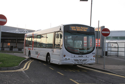 66992 is a very unusual two-door Eclipse and is one of two in use on the Q-Park shuttle