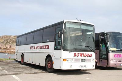 Bowmans P696BRS at Fionnphort
