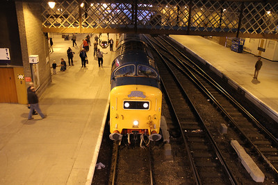 55022 at Perth on the return