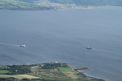 Argyle and Bute head for Gourock and Dunoon