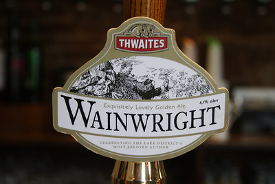 Thwaites Wainwright at a hotel in St Bees